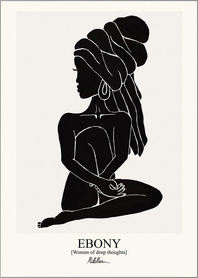 ebony-black