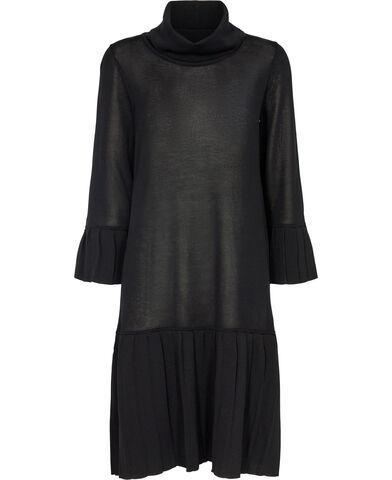 Dress_ Pleated Knit