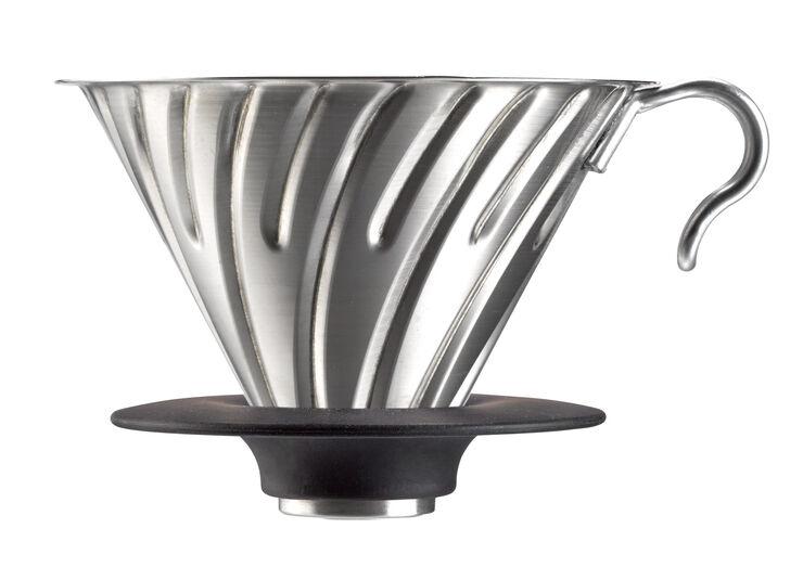 Hario Dripper V60 2 cup, steel
