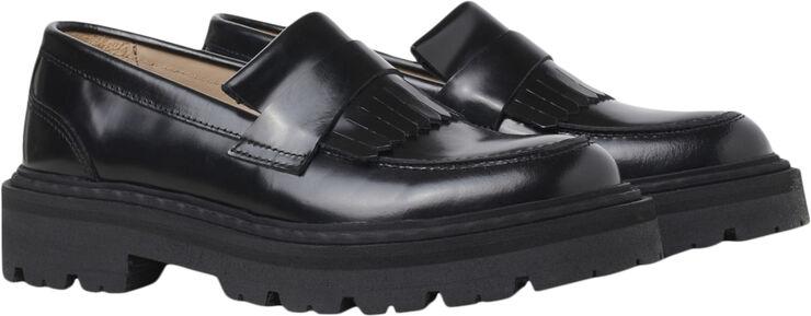 Spike Loafer - Black