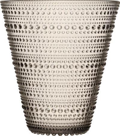 Kastehelmi vase 15,4 cm - linen
