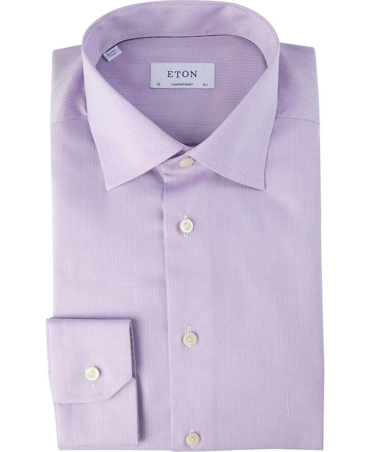 Purple micro braid shirt