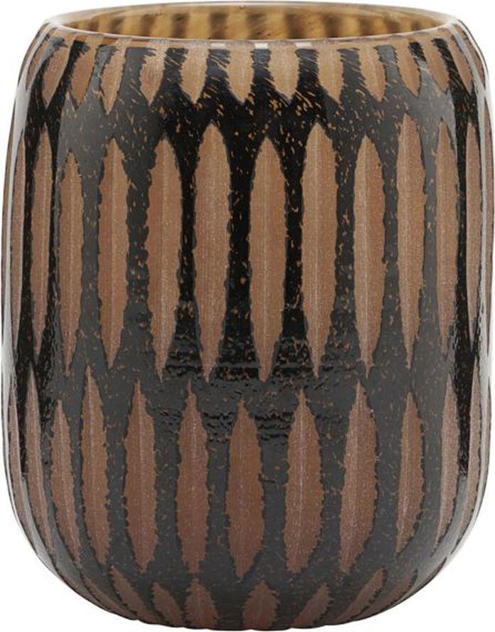 Vase, Pimpri, Sort/Brun