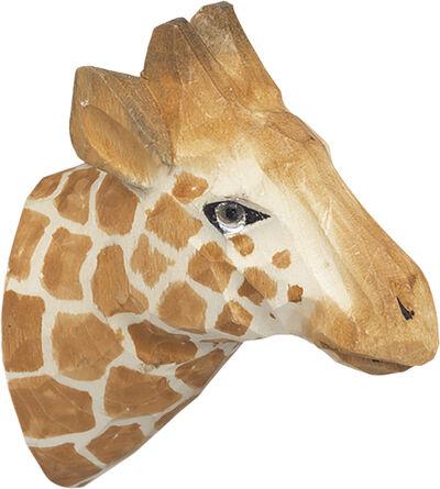 Animal Hand-carved Hook - Giraffe