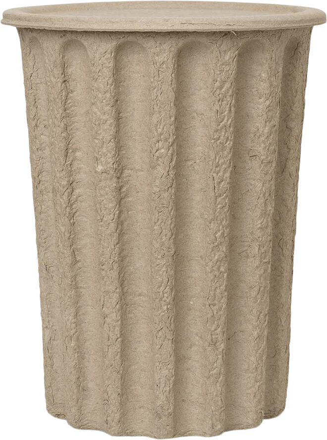 Paper Pulp Paper Bin - Brown
