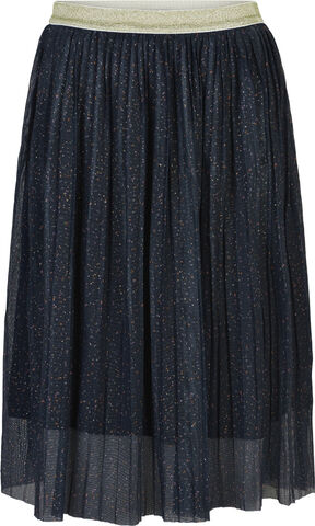 SYBIL PLEAT MESH SKIRT