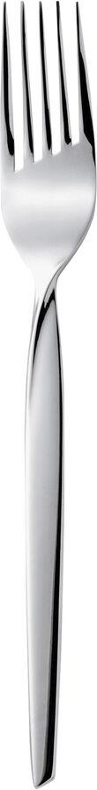 Twist kagegaffel blank stål L16cm