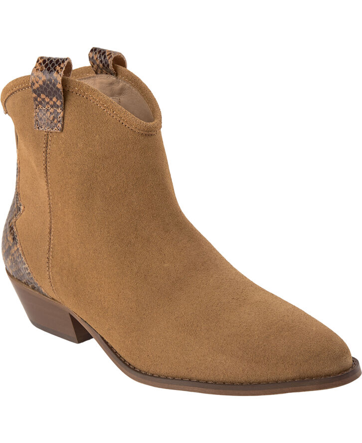 BIADAYA Western Suede Boot
