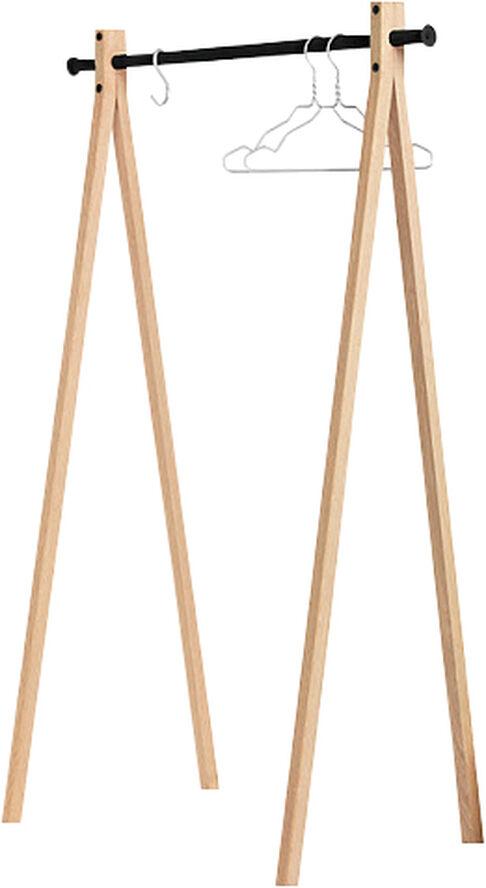 Dress-UP ash wood/black 90cm tøjstativ