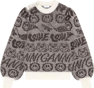 K1551 Printet pullover