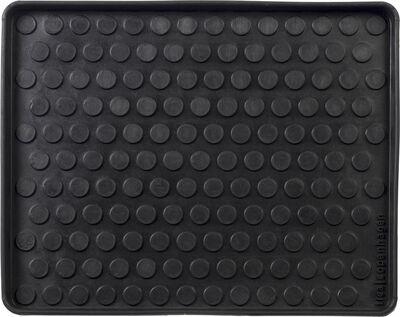 Skobakke i gummi 48x38 cm.