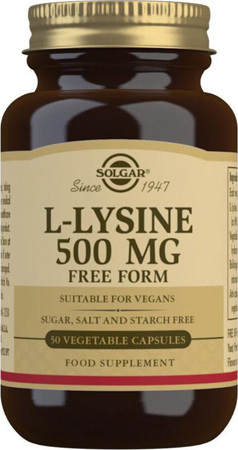 L-LYSINE 500MG (50KAPS)