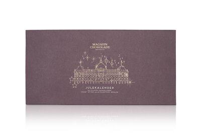 24 stykker (bordeaux), Julekalender (296 g)