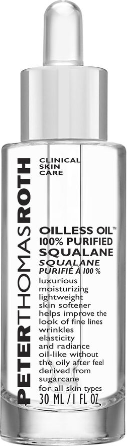 Oilless Oil 100% Purified Squalane 30 ml.