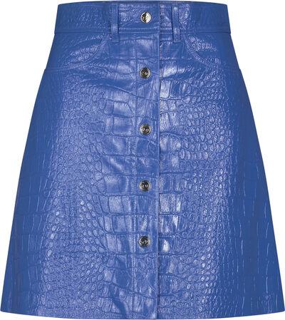 Carmela Short Skirt Leather