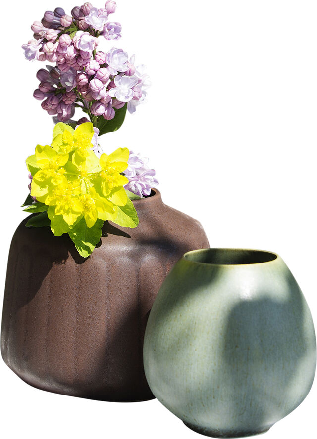 Model no 1 - Small green vase -