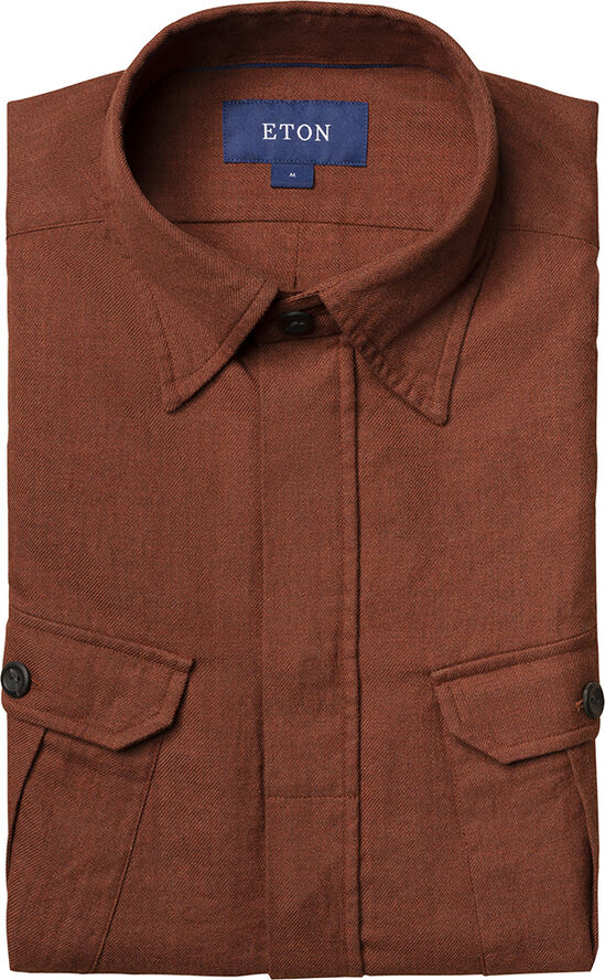 Four-pocket overshirt Casual fit