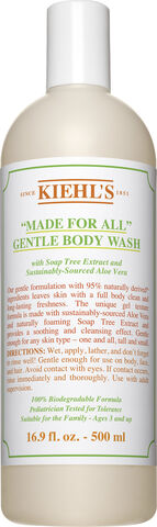 """""""""""""""Made For All"""""""" Gentle Body Wash 500 ml."""""""