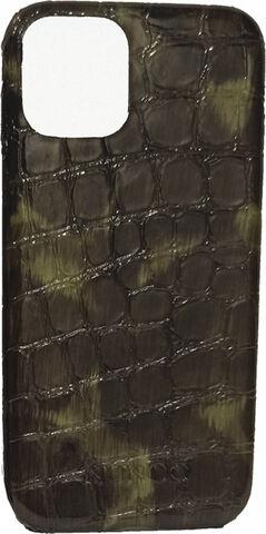IPhone 11 Pro Max cover croco gloss green/black