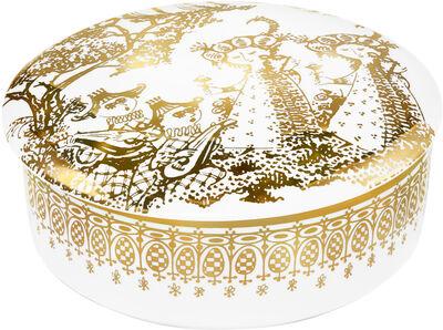 Mascarade Lågkrukke guld Ø16 cm