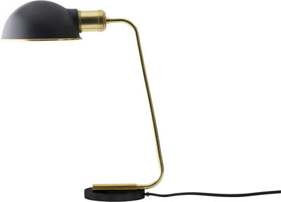 Collister Table Lamp, Polished Brass