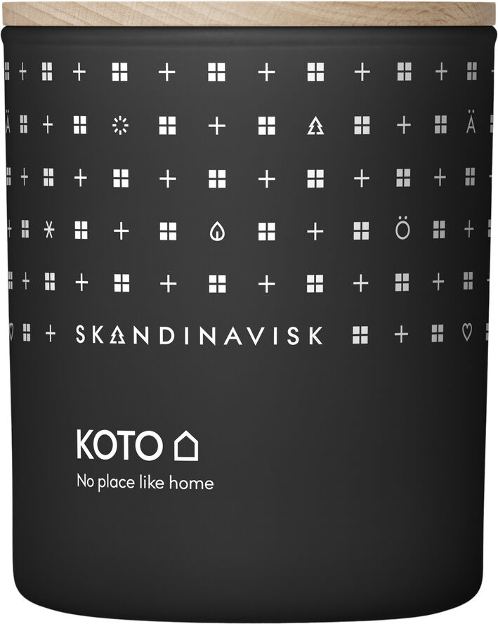 KOTO Scented Candle w Lid 200g