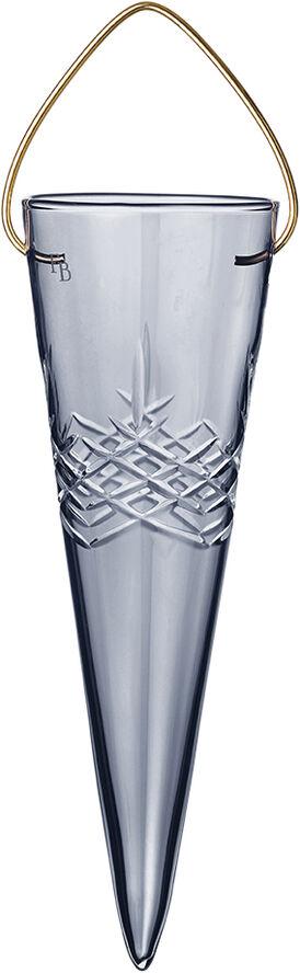 Crispy Holiday Glass Dark Cone - 1 stk