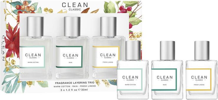 Clean Classic Layering Trio 3x30 ml