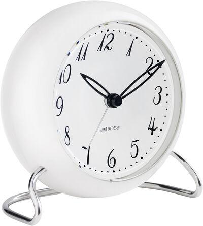 AJ LK bordur, hvid/hvid,  Ø 11 cm, alarm