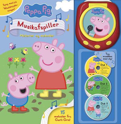 Peppa Pig - Gurli Gris' musikafspiller - Historier og melodier (med 15