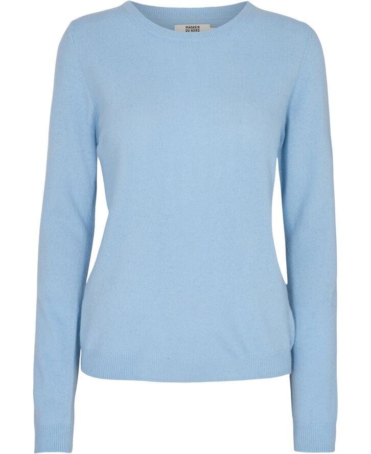 Myrna 1 - 100% premium lammeuld - crystal blue
