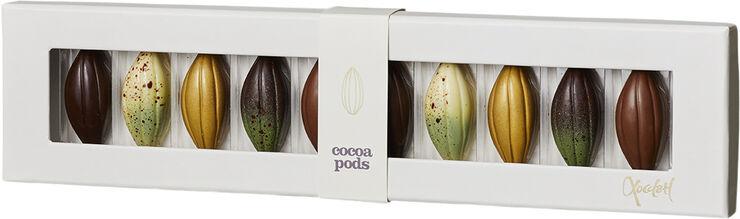 gaveæske med fyldt chokolade