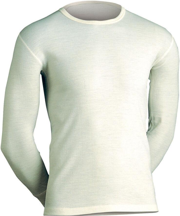 Langærmet uld-undertrøje