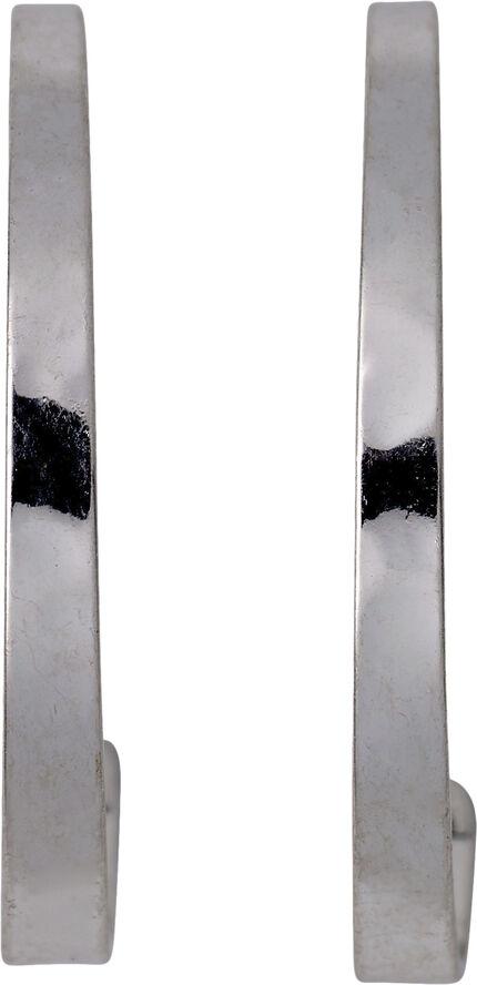 Øreringe earrings sølvbelagt