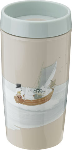 BRING-IT to-go kop, 0,34 l. - dusty green - Moomin