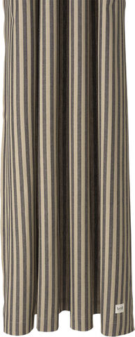 Chambray Shower Curtain - Sand/Blac