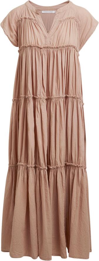 Cotton flare long dress