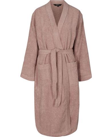 Frotté kimono misty rose