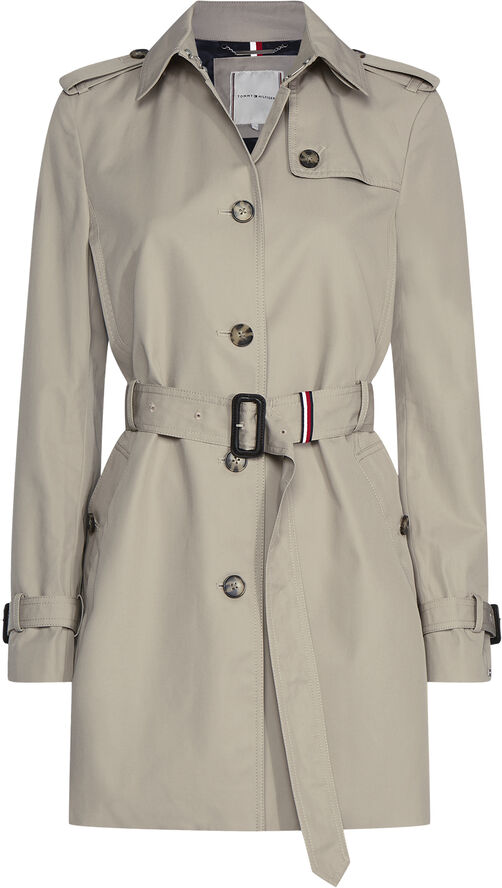 HERITAGE SINGLE BREASTED TRENCH COAT