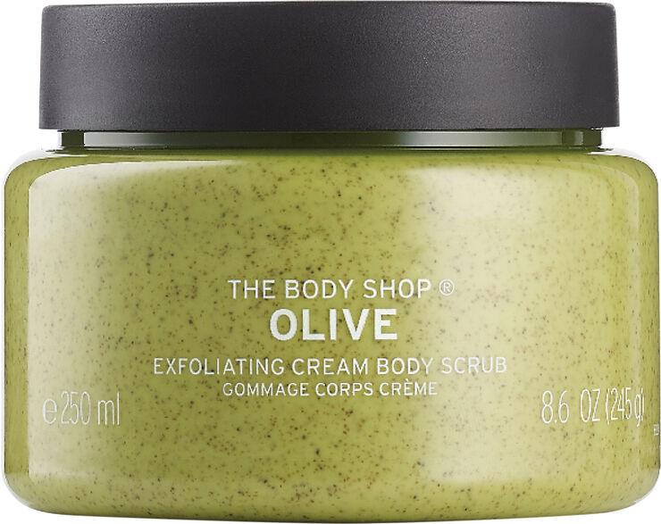 Olive Exfoliating Cream Body Scrub