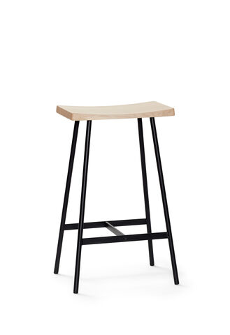 HC2 Seat Oak white pigm. matt lacquer