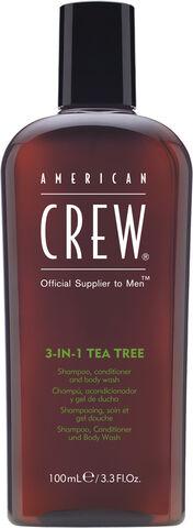 AMERICAN CREW Hair&Body 3-in-1 tea tree 450 ML