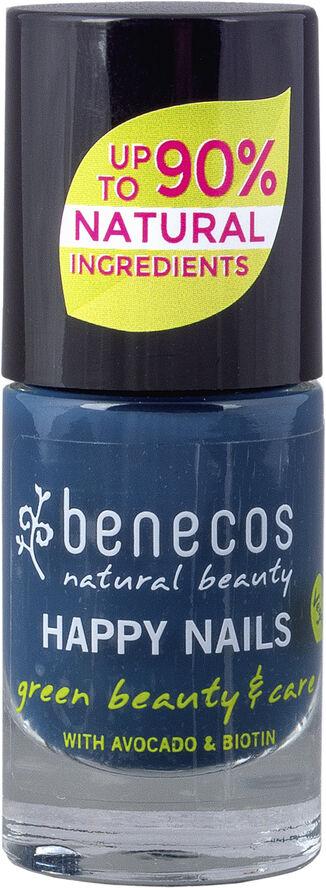 benecos Nail Polish, 5ml, nordic blue