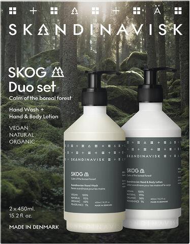 SKOG Wash & lotion giftset