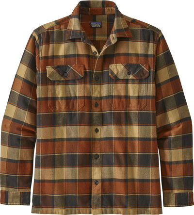 PAT M L/S Fjord Flannel, Burnished Red