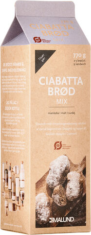 Ciabatta Brød Karton