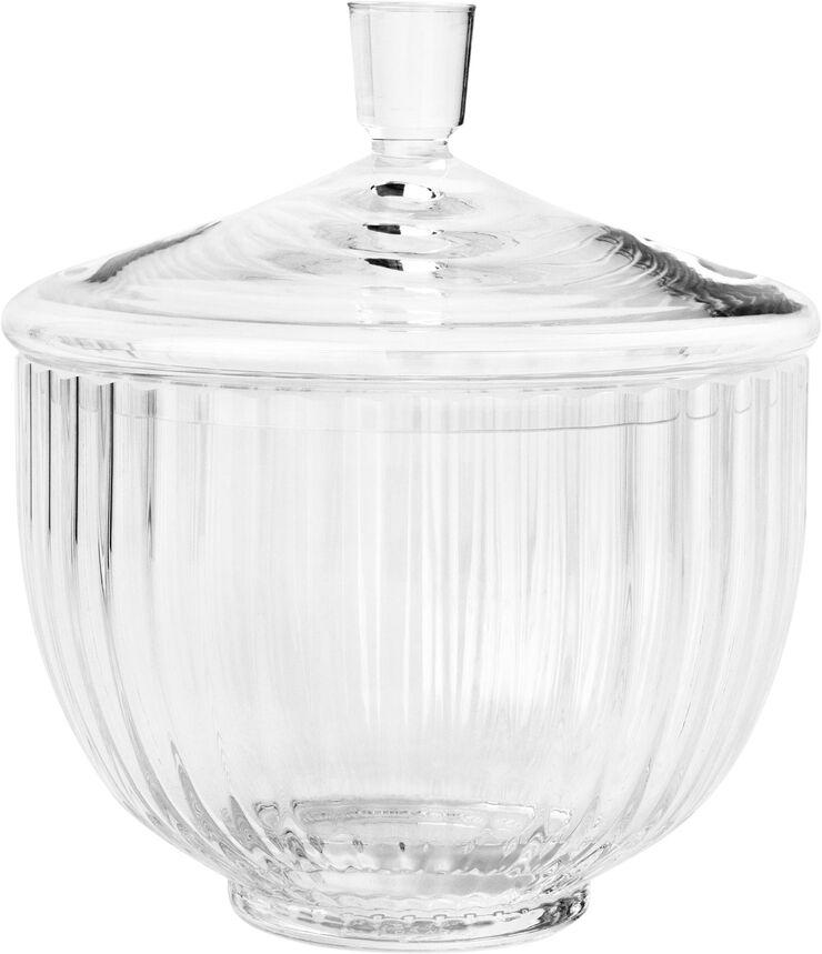 Bonbonniere Ø14 glas klar