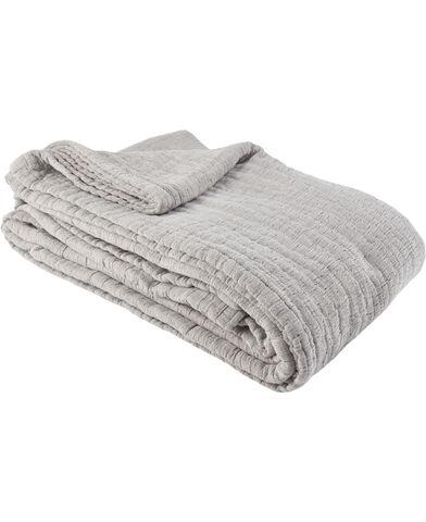 Nordic bedspread 180x260cm sort nuance