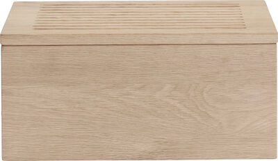 Gourmet Wood Box - H16,5 x 20 x 35 cm