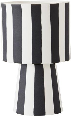 Toppu Pot - Small black/white